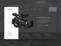 Camera Shopping Page