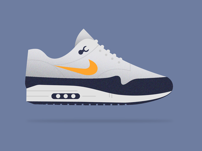 Nike Sneaker pt. 2 air max shoes texture illustration sneaker nike