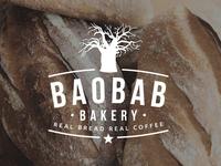 Baobab Bakery Logo Design