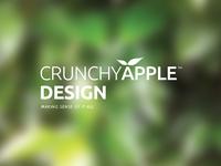 Crunchy Apple Design New Logo