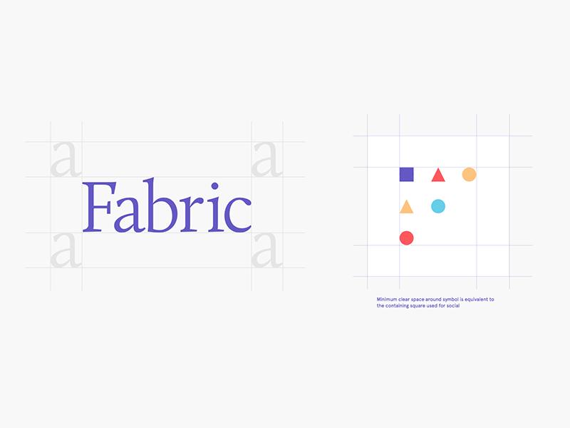 Fabric Wordmark Symbol By Mark Forscher Dribbble