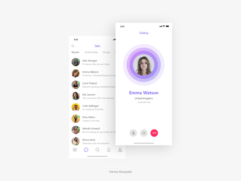 Chat UI interaction design user interface userinterface march chat app app design iphone adobe xd interface creative ux ui design