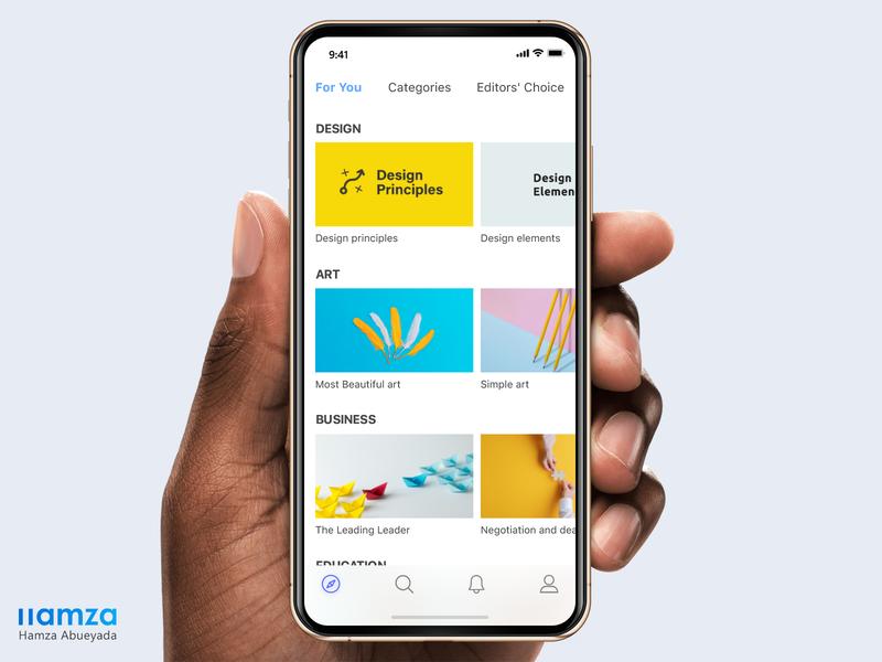 Slideshare Redesign pink blue yellow white homepage redesign slideshare slide app interface iphone adobe adobe xd design ux creative ui