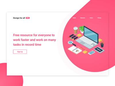 Design For All web design resources designers site web ux ui design