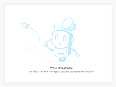 Empty state dashboard data robot sketch illustration ui ux app web state empty