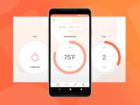 Self-Driving Taxi - Temperature Settings
