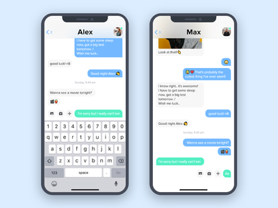 Daily UI #013 | Direct Messaging