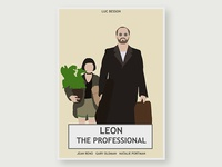 Leon The Professional - Simplistic Movie Poster #1