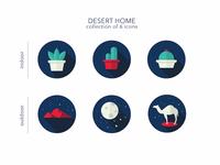 Desert Theme Icons