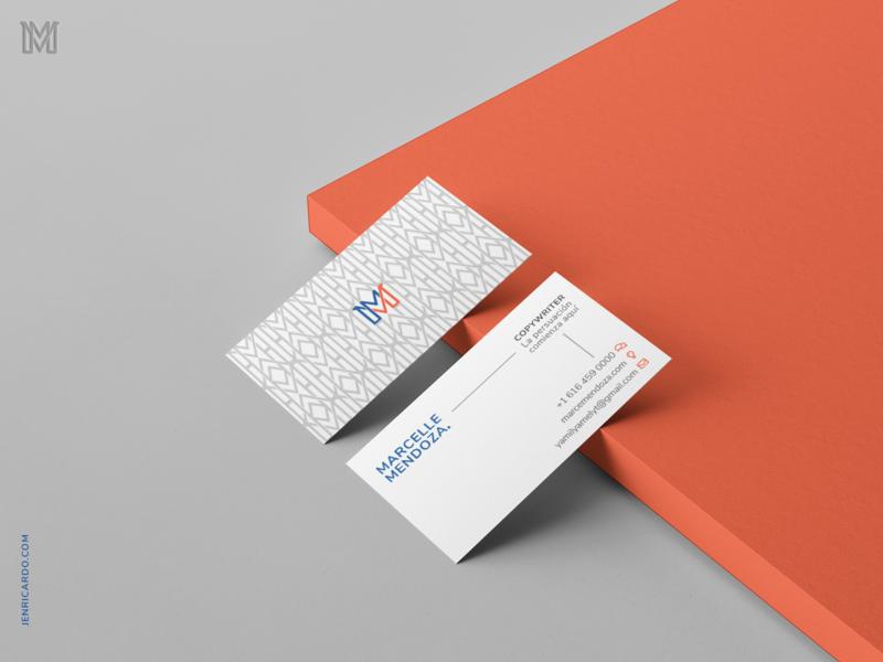 Business Card Copywritter tarjeta de presentacion branding brand identity business card