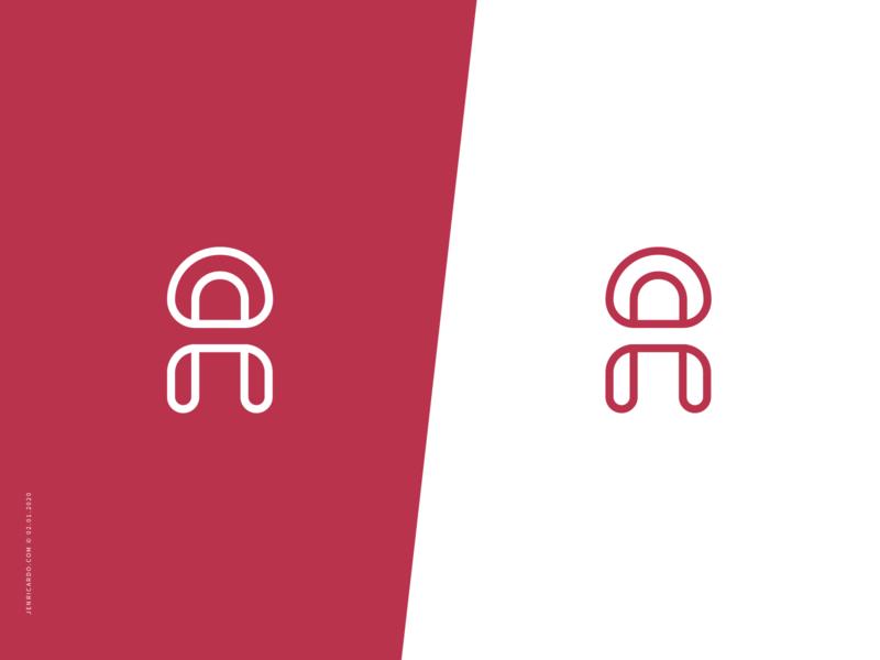 A monogram monogram logo logo design for sale logotype lettermark letter a brand mark branding brand identity