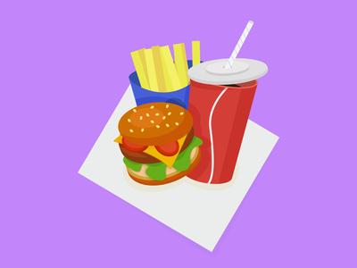 Fast food 🍔🍟🥤