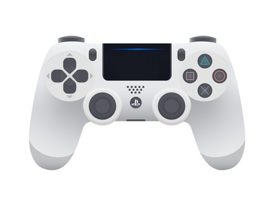 PS4 game console consoles console gaming console game prefix joysticks joystick playstation4 playstation 4 playstation ps4 ps gamepad vector illustration vector illustration flat illustration flat