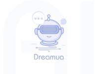 AI social concept logo