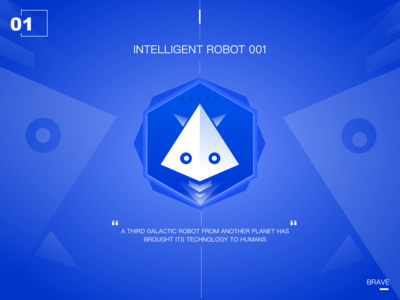 Intelligent robot of the future01