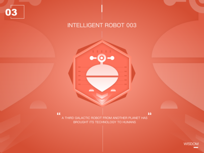 Intelligent robot of the future03