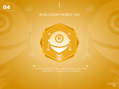 Intelligent robot of the future04