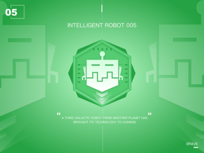 Intelligent robot of the future05