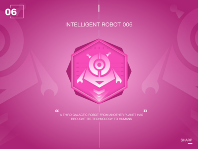 Intelligent robot of the future06