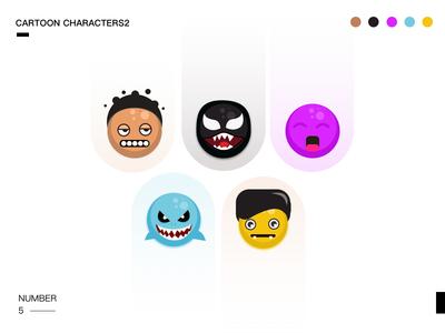 Cartoon characters2