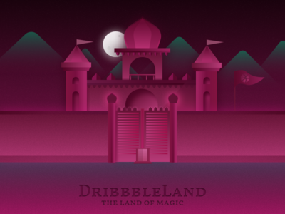 DribbbleLand - The Land of Magic