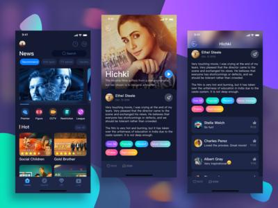 App design for video