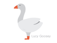 Lucy Goosey - Logo