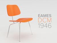 Eames 1946 DCM Redux Vray Render