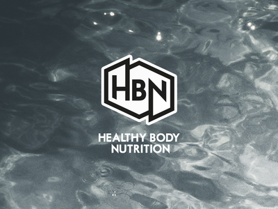 HBN Logo wordmark typography script logotype identity art professional pro work design logo branding