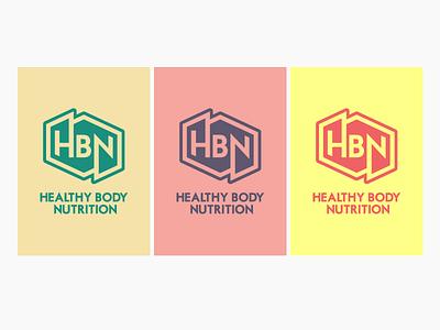 HBN Logo art beautiful colourful identity brand branding logo design
