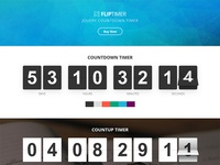 FlipTimer - jQuery Countdown Timer