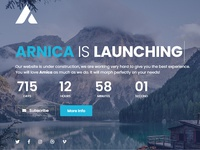 Arnica - Creative Coming Soon WordPress Plugin