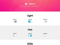 Switch - CSS Toggle Checkbox
