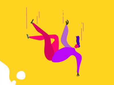 falling man illustration