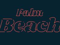 Animated branding for Palm Beach Agency