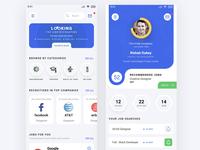 Job Seeker App UI Dribbbler