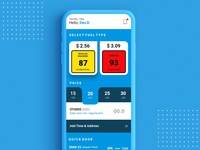 On Demand Fuel Delivery UI