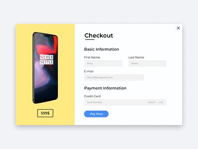 Checkout web ux typography design ui figma figmadesign