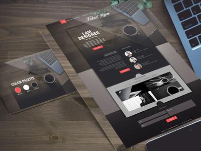 Portfolio Design for web site