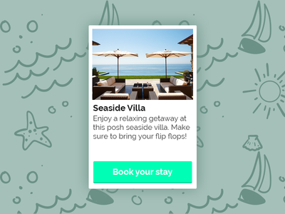Vacation Rental UI