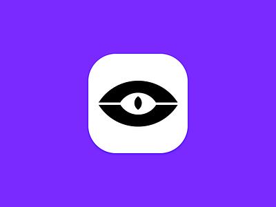 Eye Icon ios illustrator photoshop eye icon