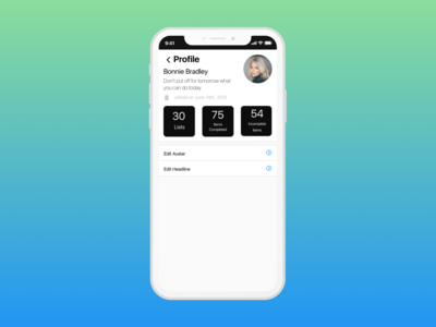 Daily UI 006 User Profile