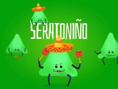 Seratoniño - Happiness Hormonie 04 fun emotion chemicals science happiness vector visual campaign story character design character illustration