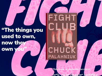 Fight Club experience typo visual book