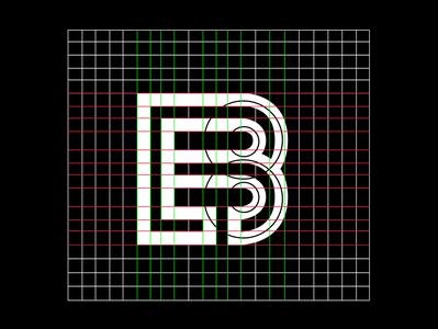 B+L Grid logo Design prototype logo design grids grid logo logos logodesign grid design grid process logotype colorful monogram illustration typography stationary logo identity design brand branding
