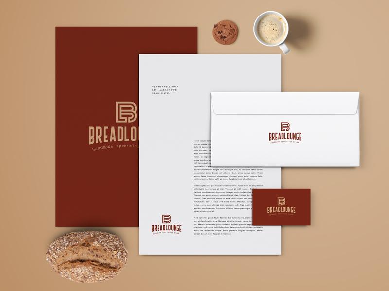 Bread Lounge Branding business card design businesscard designs designer brand design illustration agency typography design branding design brand identity idenity brand identity design identity designer identity branding identitydesign identity stationary branding