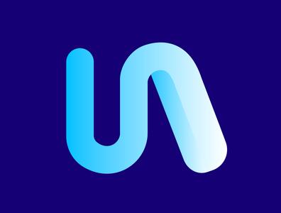 N Gradient Logo blue colors designer logodesign logos logotype graphicdesign gradients gradient design gradient color gradient monogram agency colorful logo stationary identity design brand branding