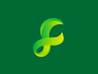 F Gradient logo