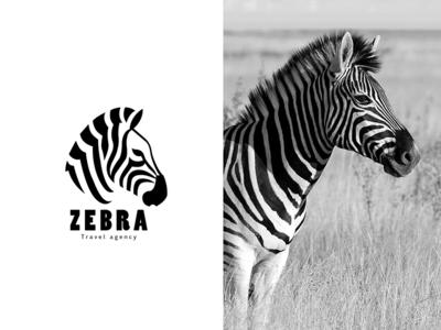 Animal logo Zebra