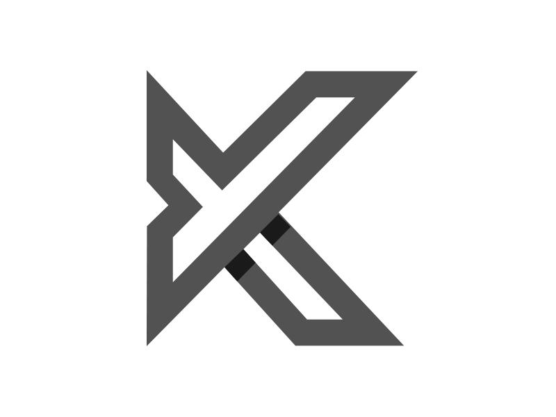 A monogram logo K + Y stationery logo2018 icon animal mark gradient agency visual vector construction colorful typography monogram illustration stationary logo identity design brand branding
